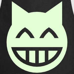 Grinning Emoji Cat  Aprons - Cooking Apron