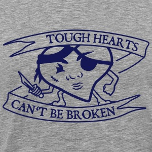 Tough Hearts T-Shirts - Männer Premium T-Shirt