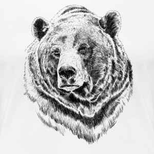 bear T-Shirts - Frauen Premium T-Shirt