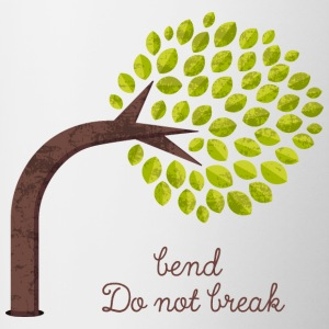 Bend and do not Break Color Coffee Mug - Tasse zweifarbig