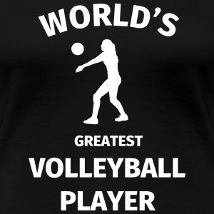 World's Greatest Volleyball Player T-shirts - Dame premium T-shirt