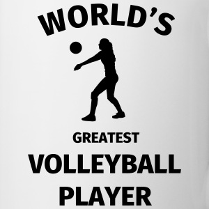 World's Greatest Volleyball Player Bouteilles et Tasses - Tasse