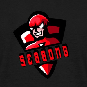 Sebbong Logo - Men's T-Shirt