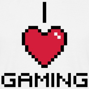 I Love Gaming T-Shirts - Männer T-Shirt