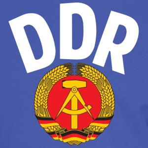 DDR - German Democratic Republic - Est Germany - Camiseta contraste hombre