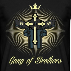 Biker T-Shirt / Gang of Brothers - Männer T-Shirt