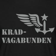 Motiv ~ T-Shirt Männer: Logo + Schriftzug vorne (grauer Aufdruck)