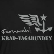 Motiv ~ FERNWEH - T-Shirt Männer (Aufdruck grau)