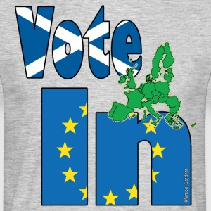 Scotland Vote In EU referendum - Men's T-Shirt