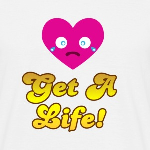 Candy Crush Get A Life - Men's T-Shirt