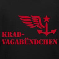 Motiv ~ KRAD-VAGABÜNDCHEN - Kinder-T-Shrit (Aufdruck rot)