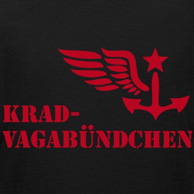 KRAD-VAGABÜNDCHEN - Kinder-T-Shrit (Aufdruck rot)
