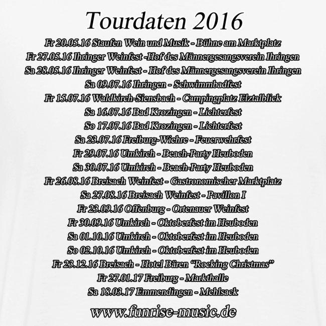 Funrise Tour-Shirt 2016