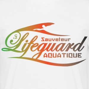 lifeguard multicolor Tee shirts - T-shirt Homme
