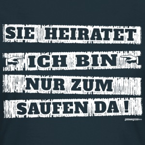 JGA Sie heiratet - Frauen T-Shirt