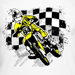 MotoCross Manches longues - T-shirt baseball manches longues Homme