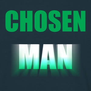 Chosen Man White - Men's T-Shirt