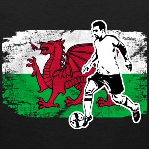 Soccer - Fußball - Wales Flag Sports wear - Men's Premium Tank Top