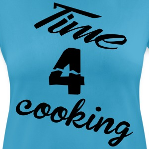 time4cooking Sportbekleidung - Frauen T-Shirt atmungsaktiv