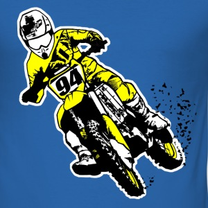 MotoCross T-shirts - Slim Fit T-shirt herr