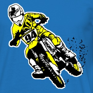 MotoCross T-shirts - Mannen T-shirt
