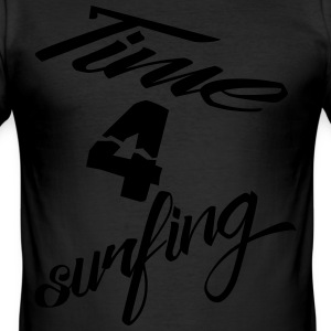 time4surfing T-Shirts - Männer Slim Fit T-Shirt