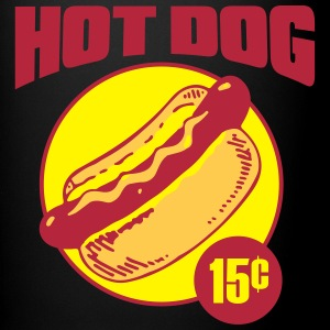 Hot dog - Tasse en couleur