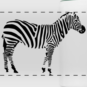 Zebra Mugs & Drinkware - Panoramic Mug