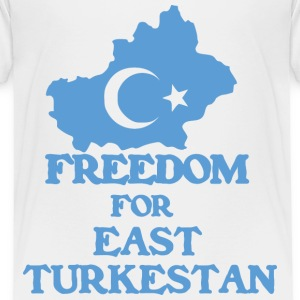 Freedom Turkestan  - Kinderen Premium T-shirt