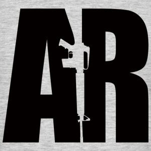 AR15 BLACK - Men's T-Shirt