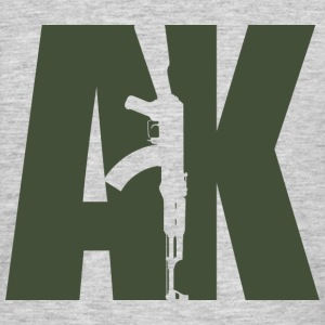 AK47 GREEN - Men's T-Shirt