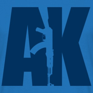 AK47 BLUE - Men's T-Shirt