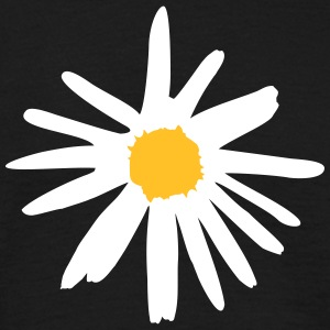 Flower, daisy T-shirts - Herre-T-shirt