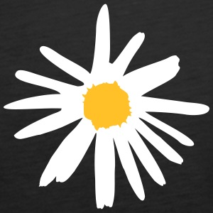 Flower, daisy Tops - Women's Premium Tank Top