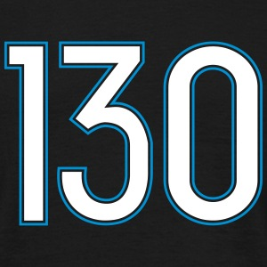 130, Hundertdreißig, Hundred Thirty, Pelibol ™ T-shirts - T-shirt herr