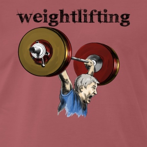 Weightlifting T-Shirts - Men's Premium T-Shirt