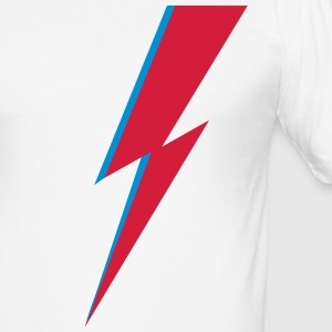 flash, music, rebel, Bowie, hero, space, blackstar - Men's Slim Fit T-Shirt