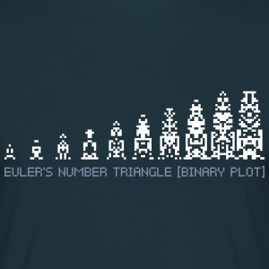 Euler's Number Triangle T-Shirts - Men's T-Shirt