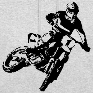 MotoCross Sweat-shirts - Sweat-shirt à capuche unisexe