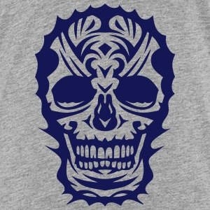 skull tribal_3103 Shirts - Teenage Premium T-Shirt