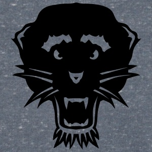 Panther wild animal head 3103 T-Shirts - Men's V-Neck T-Shirt