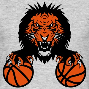basketball Lion claw   club   Roar   mouth T-Shirts - Men's T-Shirt