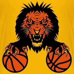 basketball Lion claw   club   Roar   mouth Shirts - Teenage Premium T-Shirt
