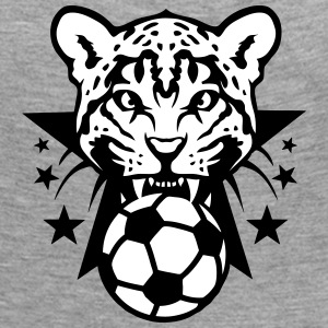 Football leopards tooth fierce Logo club Long Sleeve Shirts - Women's Premium Longsleeve Shirt