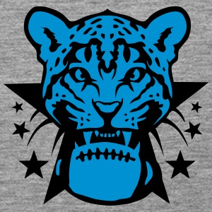American football rugby leopards tooth Tops - Women's Premium Tank Top