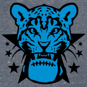 American football rugby leopards tooth T-Shirts - Men's V-Neck T-Shirt