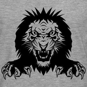 Lion claw open mouth Long sleeve shirts - Men's Premium Longsleeve Shirt