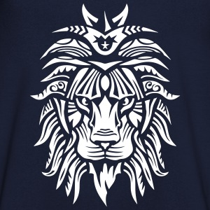 lion super tribal gueule roi jungle 2 Tee shirts - T-shirt Homme col V