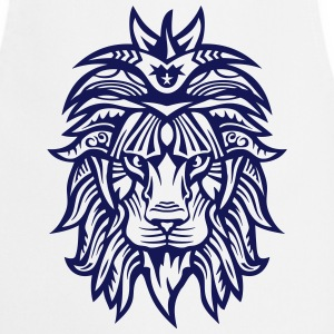 Lion Super Tribal Mouth Jungle King  Aprons - Cooking Apron