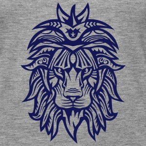 Lion Super Tribal Mouth Jungle King Tops - Women's Premium Tank Top